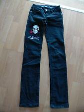 Jeans schwarz Gr. 32 Röhrenjeans Miss Vivi Collection wie neu