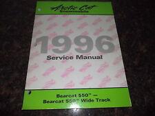 1996 ARCTIC CAT BEARCAT 550 / WIDE TRACK SNOWMOBILE SERVICE SHOP REPAIR MANUAL