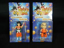 DBZ Dragon Ball Bandai 1995 Sword Swinging Yamcha Figure & KRILLIN