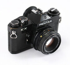 ASAHI PENTAX KX BLACK, 50/2 SMC PENTAX-M (DUST, DEBRIS), DEAD METER/202912