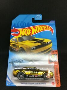 Hot Wheels Super Treasure Hunt $TH 18 Dodge Challenger SRT Demon 2020 NEW - GOLD