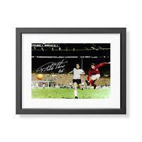 Sir Geoff Hurst Signed England 1966 Photo England 66 Autograph Memorabilia