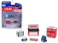 Sta-Bil Tool Accessories Workshop Set 6 Pcs 1:64 Greenlight