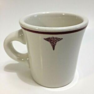 buffalo pottery coffee//tea mugs pair