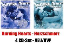 Burning Hearts (4 CD-Set) NEU&OVP Best of TV-Werbung Toto ABBA REM U2 Roxette