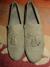 ARCHE LN GREEN NUBUCK LEATHER SHOES sz 39 US 8.5
