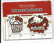 Sanrio Hello Kitty Magnet Bookmark Popcorn
