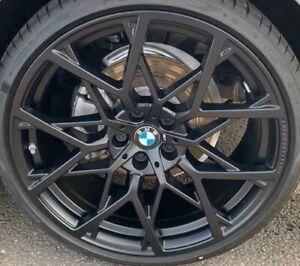 "BMW OEM G20 G21 3 Series Style 795M Y-Spoke 20"" Forged Wheel Set Matte Black New"