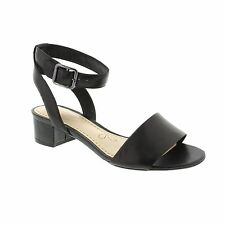 Block Heel 100% Leather Formal Strappy for Women