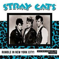 STRAY CATS – NYC Rumble! Live At The Ritz October 18th 1988 Vinyl lp rare live