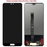 VITRE TACTILE ECRAN LCD ORIGINAL HUAWEI P20 P20 lite  P20 PRO  + OUTILS colle