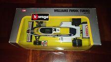 "Modellino Burago ""Williams FW08C Turbo"" scala 1/24 - Made in Italy"