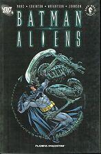 BATMAN vs ALIENS ed.Planeta NUOVO