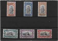C174 SAINT  MARIN N°62 A 67 OBLITERE ANNIVERSAIRE DE LA VICTOIRE