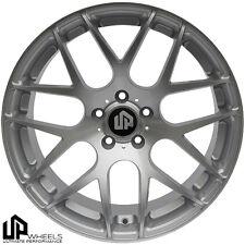 UP720 19x8.5/9.5 5x120 Silver ET15/22 Wheels fits bmw 528 535 550 645 745 750