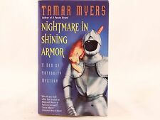 VG! Nightmare in Shining Armor: A Den of Antiquity Mystery by Tamar Myers
