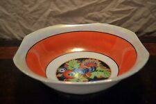 Vintage Art Deco REGISTERED Celebrate Lusterware Serving Bowl from Germany 8""