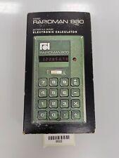 0022 Taschenrechner RAPID DATA RAPIDMAN 800