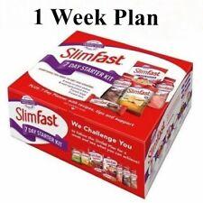 SlimFast 7 Day Starter Kit Slim Fast Body Weight Loss Diet - Pack of 1 Week Plan