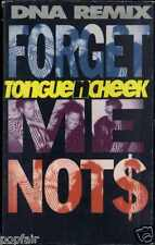 TONGUE N CHEEK - FORGET ME NOTS (DNA REMIX) 1990 UK CASSINGLE CARD SLEEVE
