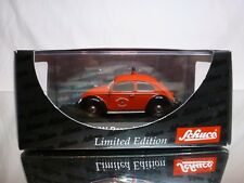 SCHUCO 02794 VW VOLKSWAGEN SPLIT WINDOW - FIRE ENGINE FEUERWEHR - EXCELLENT IB