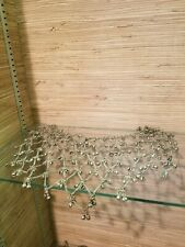 Vintage Belly Dance Belt Coin front side only unusual gallabiya silver colored