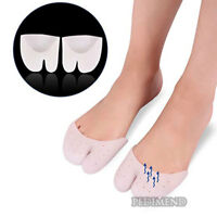 PEDIMEND Ballet Shoe High Heels Toe Pads Half Toe Sleeve Metatarsal Pads UK