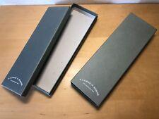 A. LANGE & SÖHNE - Cardboard Box Caja Carton - Empty Vacía 30,5 x 10,2 x 4,6 cm