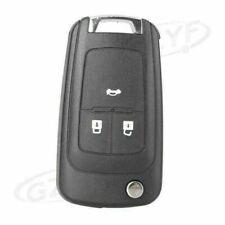 Car 3 Button Flip Remote Key Fob Case Shell for Chevrolet Camaro /Cruze /Sonic