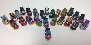Thomas The Train Engine & Friends Micro Minis Lot Of 25 Train Toy Figures