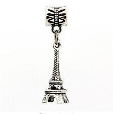 hot European Silver CZ Charm Beads Fit sterling 925 Necklace Bracelet Chain u29