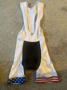 cycling bib shorts mens medium usa