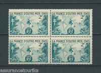 FRANCE - 1945 YT 741 bloc de 4 - TIMBRES NEUFS** LUXE