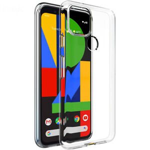 Case For Google Pixel 5 5G Slim Soft Crystal Clear Silicone Shockproof Cover