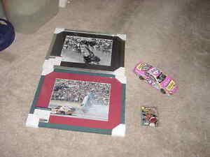 (4) RICHARD PETTY signed framed photo lot PSA/DNA+ auto 1/24 diecast car & card