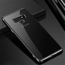 For Samsung Galaxy Note 8 9 10 S8 S9 S10 S20 Plus Thin Clear Soft Case Cover