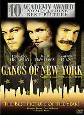 Gangs of New York (DVD, 2003, 2-Disc Set) Brand New Factory Sealed Fast Ship!