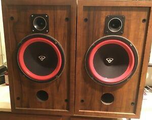 Vintage Cerwin Vega D-2 Speakers -  Clean Condition!