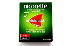 Nicorette Invisi - Invisipatch - 15mg Patch - Nicotine - STEP 2 - 7 Patches