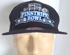 NWT New Era Pinstripe Bowl Hat NYC 2011 Snapback Navy NCAA Baseball Ball Cap Lid