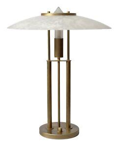 """Original 80er Jahre Design Schreibtischleuchte """"MANHATTAN"""" dimmbar Bankerlampe"""