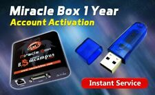 Miracle Box / Thunder 1 Year Account Re Activation RENEW FAST