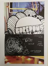 "The Boredoms Berlin 22 May 2006 paper art poster | Bongout reprint 10"" x 14"" gig"
