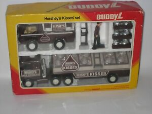 1982 Buddy L Hershey's Kisses Truck Set MIB Unused #CB3