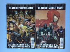Ultimate Death of Spider-man 5 and 6 Marvel Comics VF/NM 2011