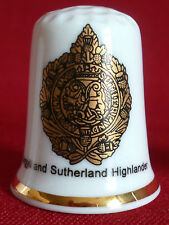 Sutherland UK & Ireland Collectable Sewing Thimbles