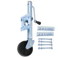 Trailer Side Swivel Jack Boat RV Swing Away Camper Wheel Bolt On 1000 lbs