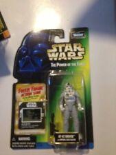 AT-AT Driver Star wars potf (Freeze Frame) carte verte