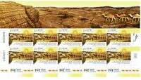 2019 Tourism In Israel Stamps Decorated Sheet MNH NEW Best for collectors MINT