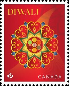 Canada Diwali 'P' single (1 stamp) MNH 2021